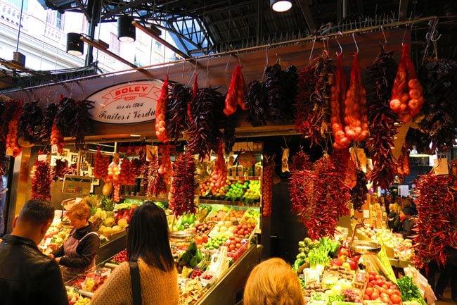 Frutas y Verduras Jesus y Carmen Barcelona