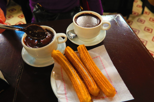 Granja Dulcinea Famous Hot Chocolate Barcelona