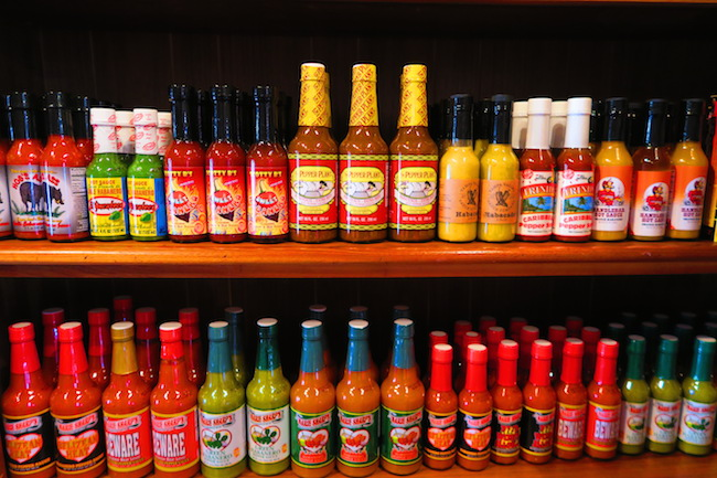 Hot sauce shop Old Town San Diego