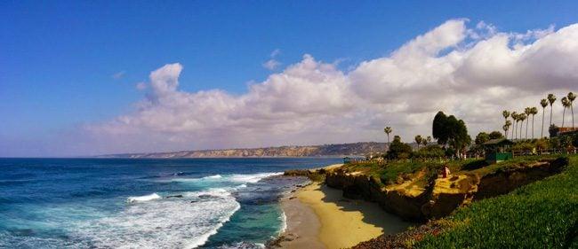 La-Jolla-Beach-panoramic-view