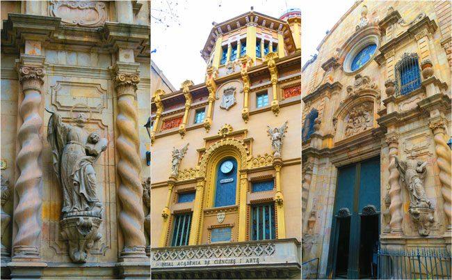 La Rambla Buildings Barcelona
