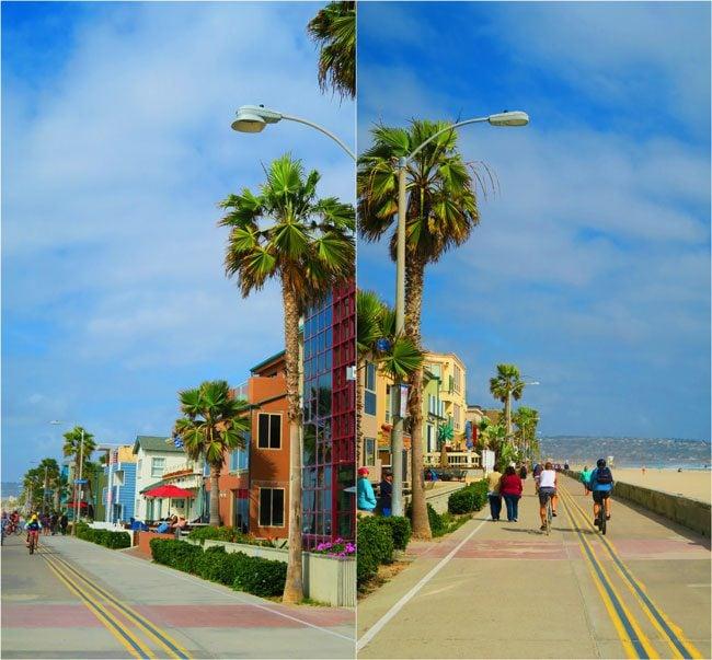 Mission Beach promenade