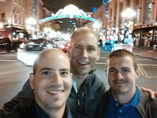 Partying-in-the-Gaslamp-District-San-Diego