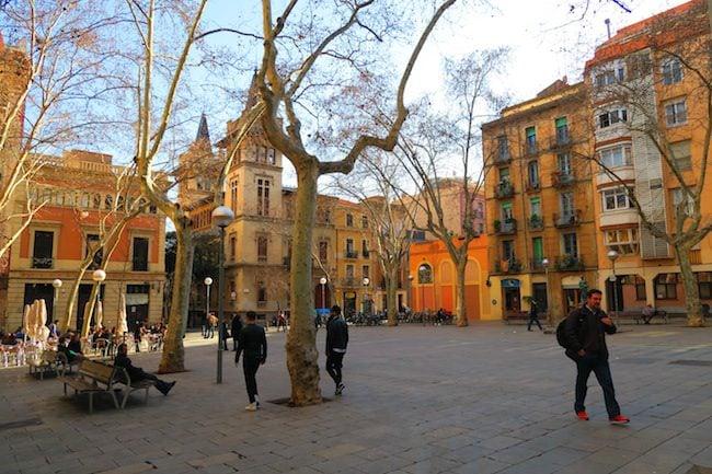 Plaça de la Virreina Barcelona