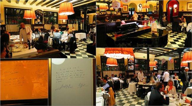 Restaurant 7 Portes Barcelona Interior
