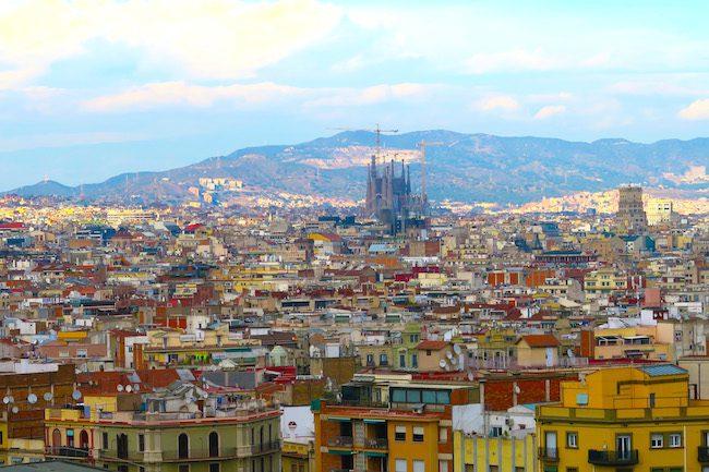 Sagrada Familia Panoramic View