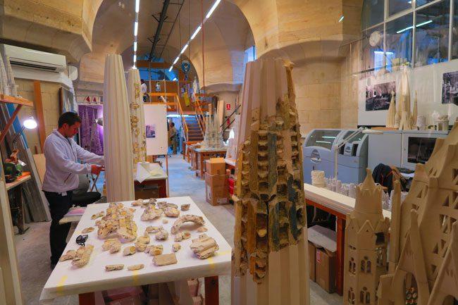 Sagrada Familia Workshop