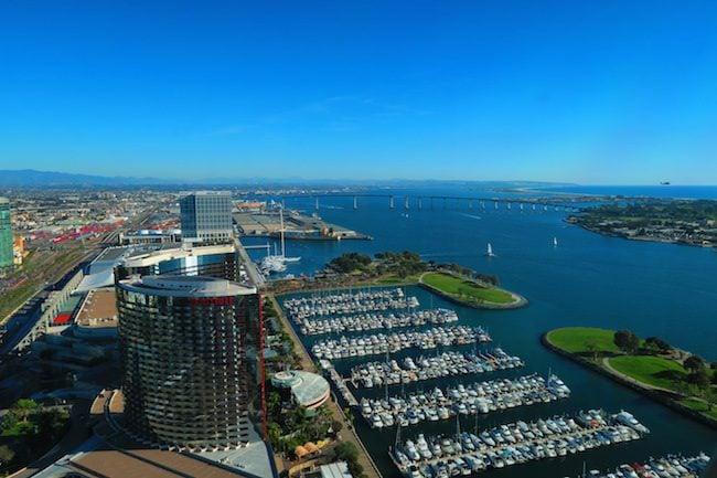 San Diego Bay View