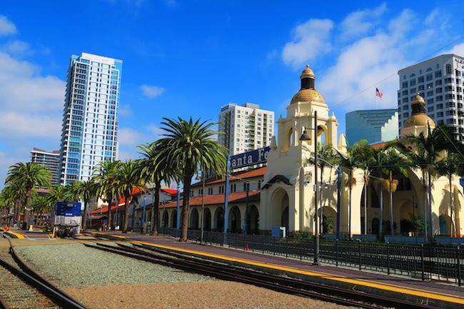 Santa Fe Railroad San Diego station