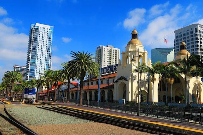 Santa Fe Railroad San Diego station