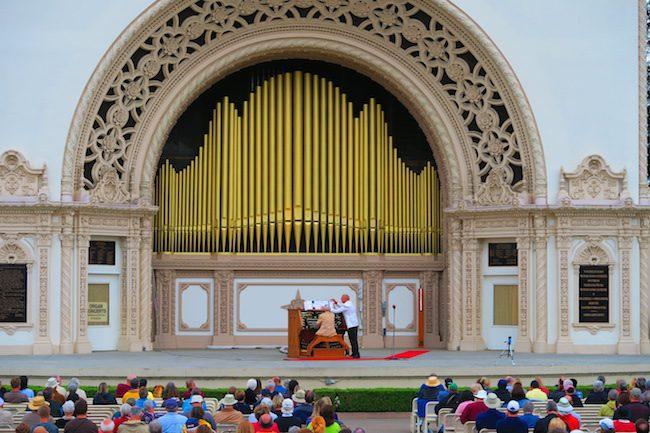 Spreckels Organ Pavilion Balboa Park San Diego