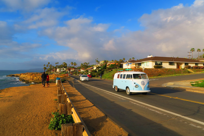 Sunset Cliffs beautiful California neighborhood