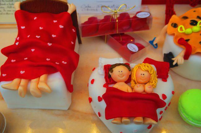 Valentine's Day Escriba Cake