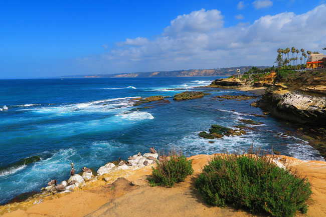 View to La Jolla Cove