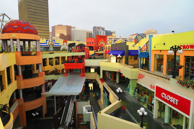 Westfield Horton Plaza San Diego shopping center