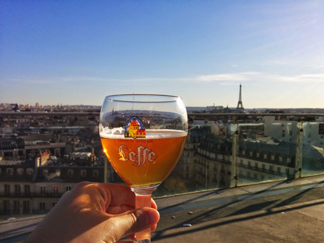 Drink with a view Paris