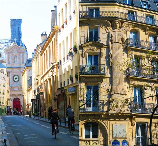 Marais Paris streets