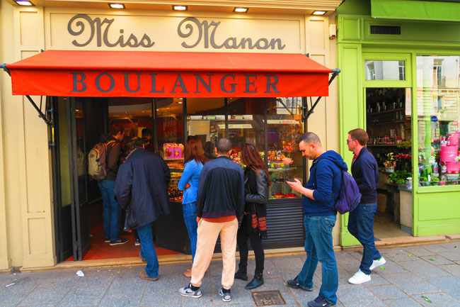 Miss Manon Paris bakery