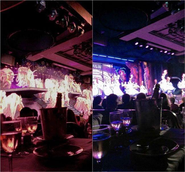 Moulin Rouge Paris dancers