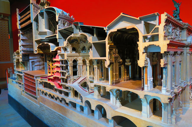 Musée d'Orsay Opera Garnier model Paris