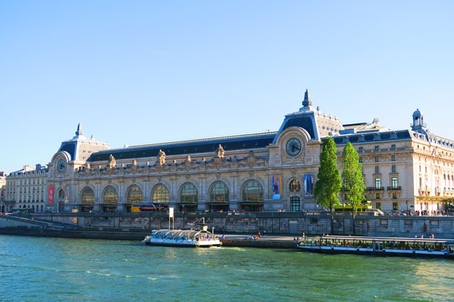Musée d'Orsay Paris exterior