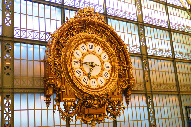 Musée d'Orsay Paris huge clock