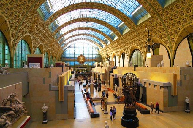Musée d'Orsay Paris interior