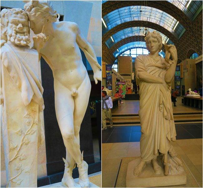 Musée d'Orsay Paris sculptures