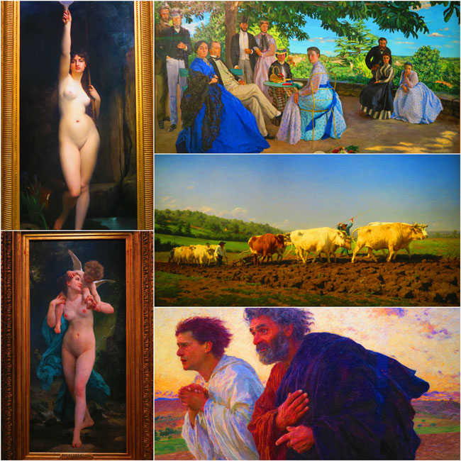 Musee d'Orsay Impressionist paintings