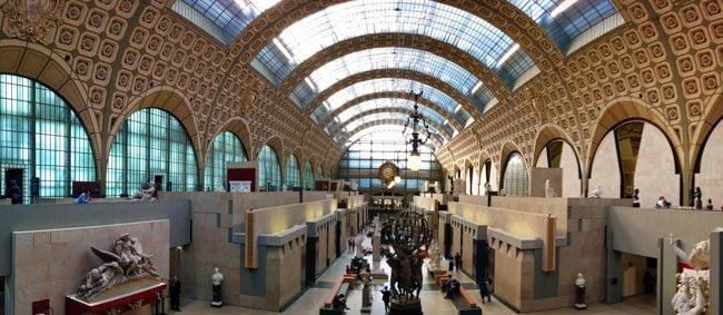 Musee d'orsay Paris interior