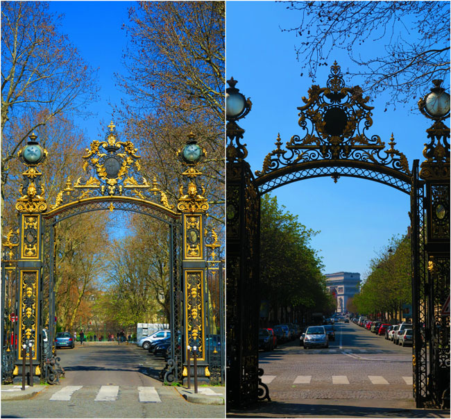 Parc Monceau Paris Gates