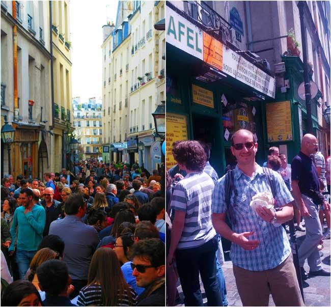 Ruse Des Rosiers in the Marais Paris