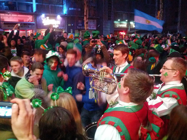 St Patricks Day Temple Bar Dublin Party X Days In Y