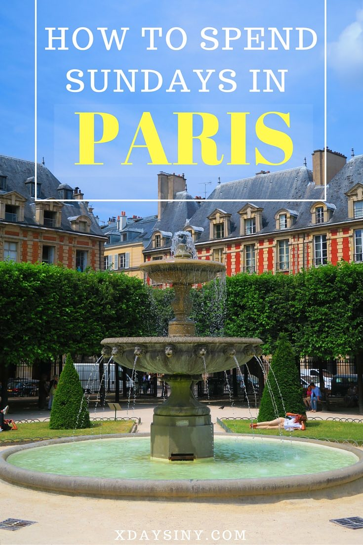 What To Do In Paris On Sunday - The Marais District