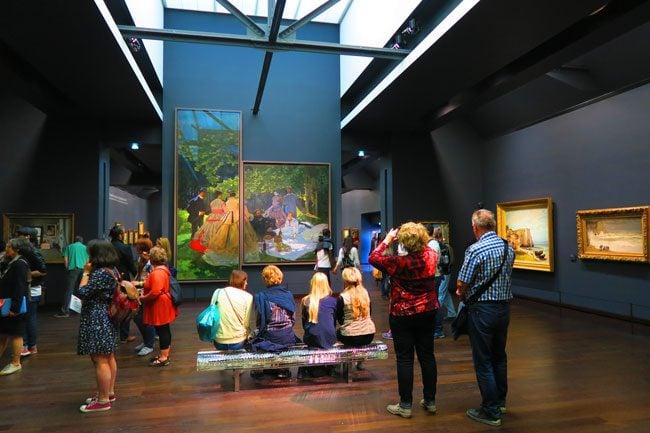Impressionist gallery musee dorsay paris