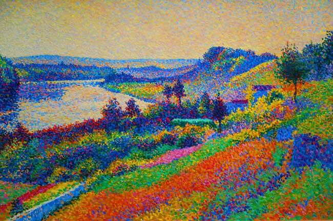 Neo Impressionist painting dorsay museum paris