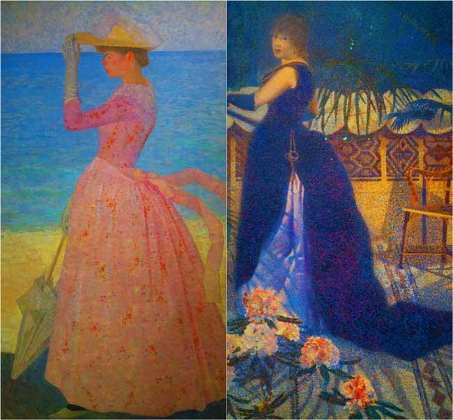Neo Impressionist painting musee dorsay paris