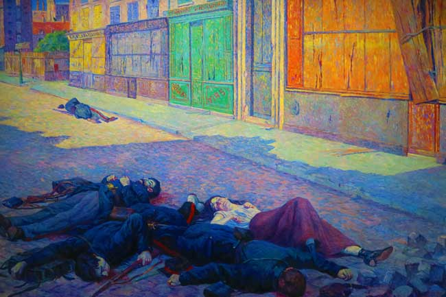 Neo Impressionist painting musee dorsay