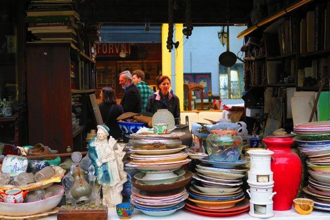 paris flea market marche aux puces Marché Jules Vallès antiques