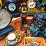 paris flea market marche aux puces Marché Jules Vallès clocks