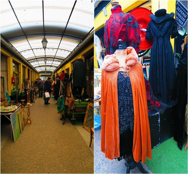 paris flea market marche aux puces Marché Jules Vallès