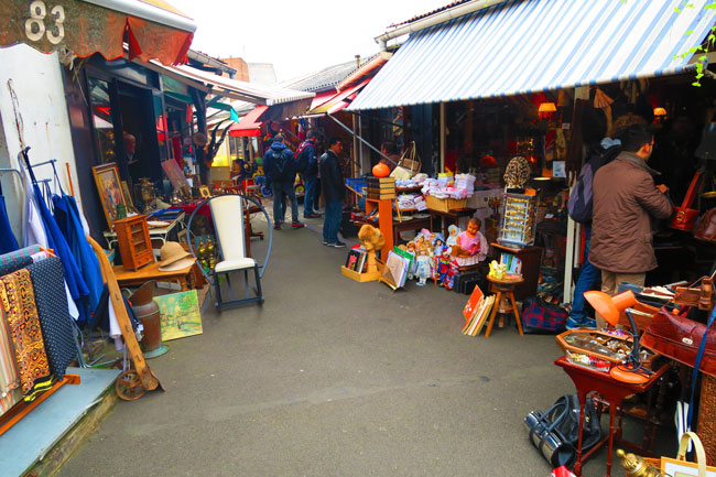 things to do paris flea market paris flea market Marché Vernaison