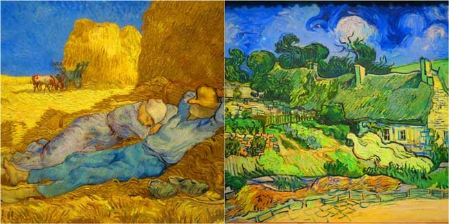Vincen van Gogh Musee d'Orsay Paris paintings