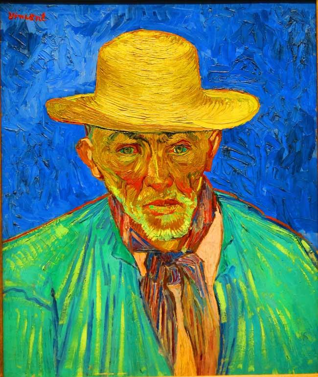 Vincent van Gogh Musee d'Orsay Peasant Portrait
