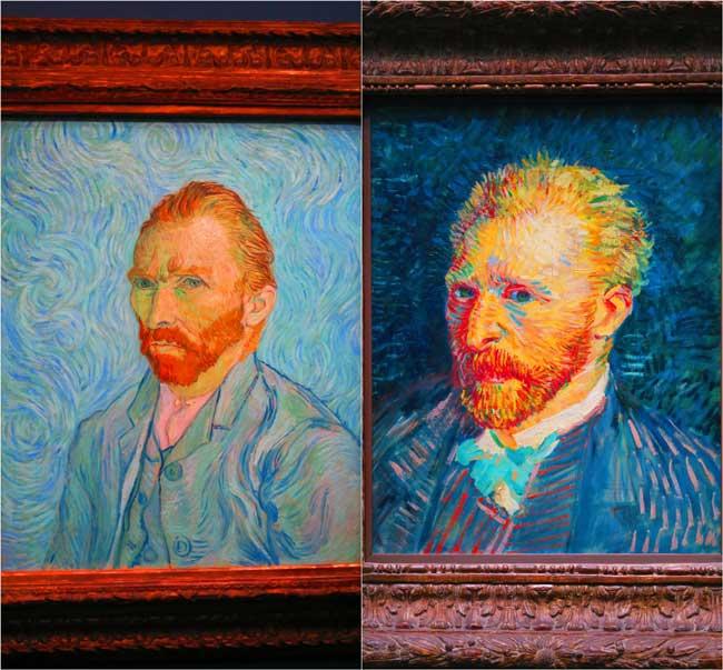Vincent van Gogh Musee d'Orsay portraits