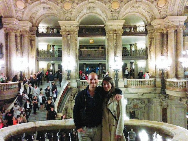 After show Opera Garnier Paris