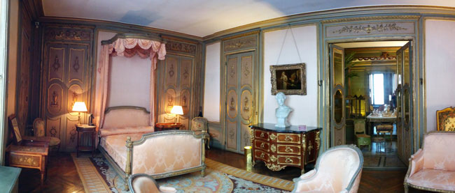 Bedroom at Musee Jacquemart Andre Paris museum