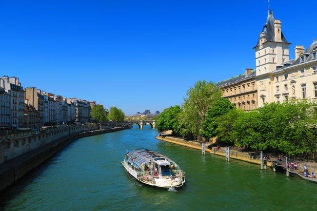 Classic Paris canal photo