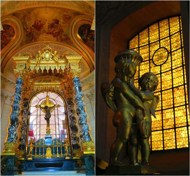 Eglise du Dome Le Tombeau de Napoléon Altar