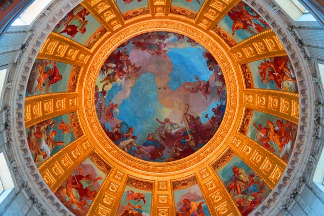 Eglise du Dome Le Tombeau de Napoléon Fresco